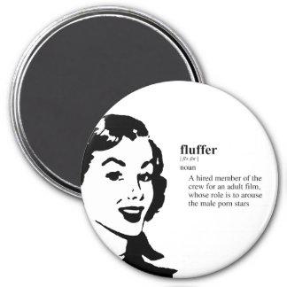 FLUFFER FRIDGE MAGNET