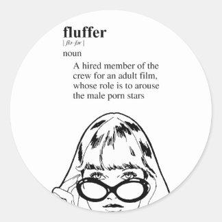FLUFFER STICKER