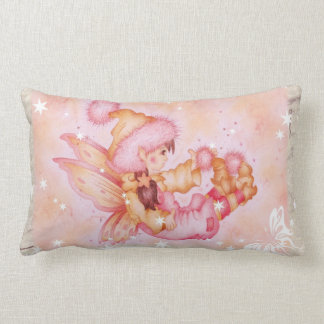 """Fluffie Fairie"" nursery pillow"