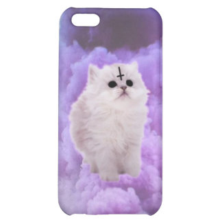 Fluffly wittle Satan kitty iPhone 5C Cover