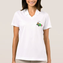 Fluffy Alien Animal Polo Shirt