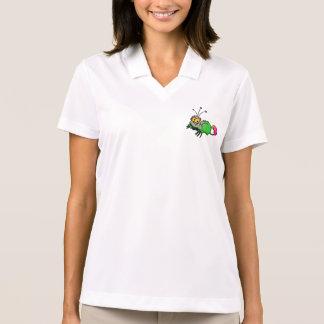 Fluffy Alien Animal Polo Shirt