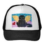 Fluffy Angel Cat Trucker Hat