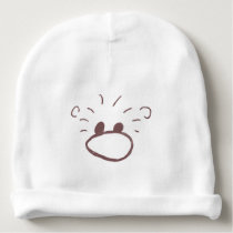 Fluffy Animal Character Baby Beanie
