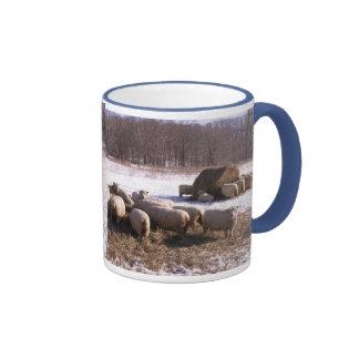 Fluffy Babydolls Ringer Coffee Mug