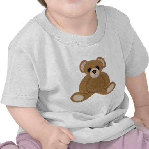 Fluffy Bear T-shirts
