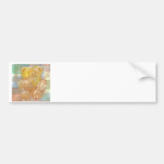 Fluffy Bear Teddy Bear CricketDiane Art Bumper Sticker