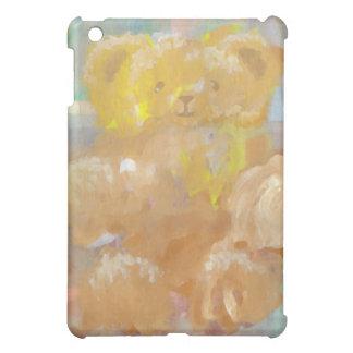 Fluffy Bear Teddy Bear CricketDiane Art iPad Mini Cover