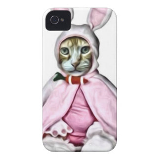 Fluffy Bunny Claude iPhone 4 Cover