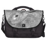 Fluffy Bunny Laptop Computer Bag