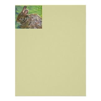 Fluffy Bunny Letterhead