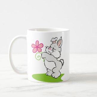 Fluffy Bunny Mug mug