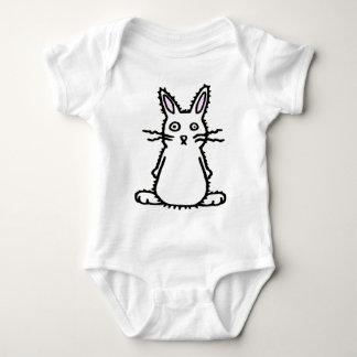 Fluffy Bunny of Doom Baby Bodysuit