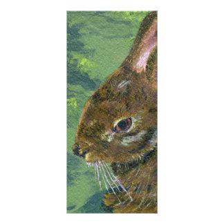 Fluffy Bunny Rack Card