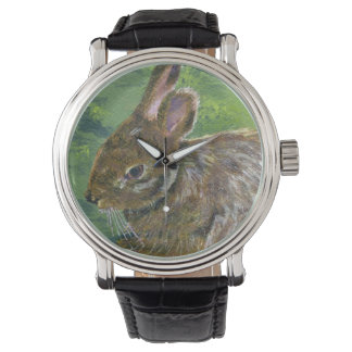 Fluffy Bunny Wristwatches