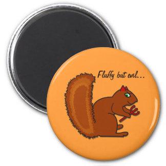 Fluffy but evil... fridge magnets