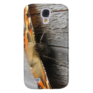 Fluffy Butterfly Macro Samsung Galaxy S4 Case