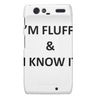 Fluffy Motorola Droid RAZR Cover