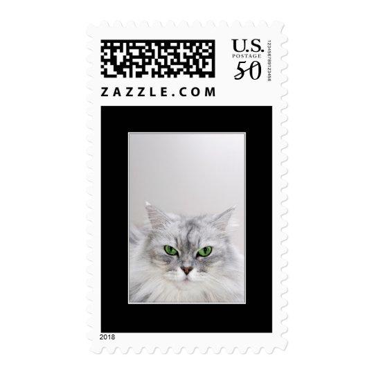 Fluffy Cat Postage