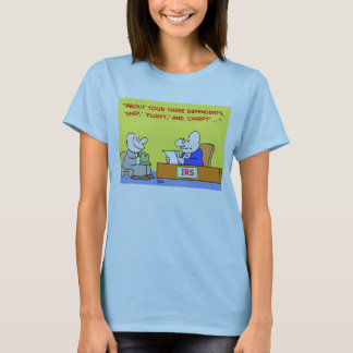 fluffy chirpy irs T-Shirt