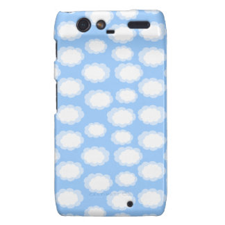 Fluffy Clouds Motorola Droid RAZR Cover