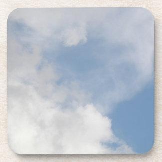Fluffy Clouds Cork Coaster