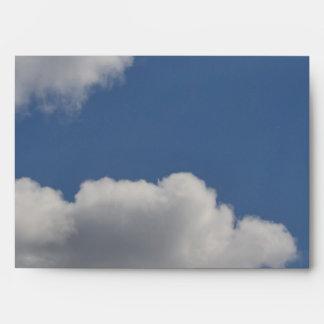 Fluffy Clouds Envelope
