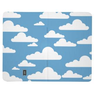 FLUFFY CLOUDS IN BLUE SKY Pocket Journal