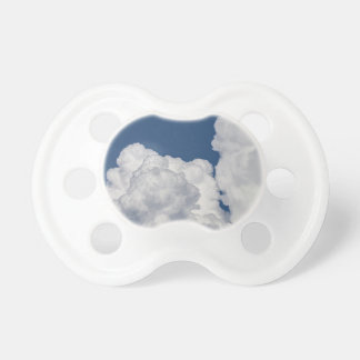 Fluffy Clouds in Sky Pacifier