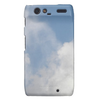 Fluffy Clouds Motorola Case Motorola Droid RAZR Cases