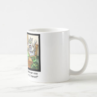 Fluffy Cohen Attorney @ Claw Funny Cat Gifts, etc Classic White Coffee Mug