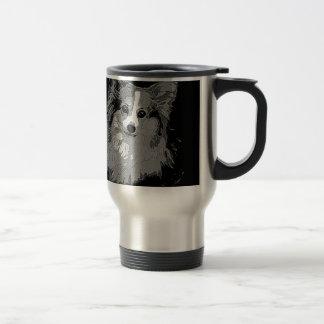 Fluffy Corgi Travel Mug