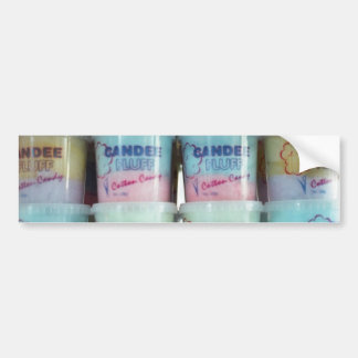 Fluffy Cotton Candy Bumper Sticker