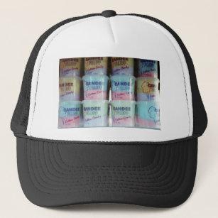 937221144f5db Fluffy Cotton Candy Trucker Hat