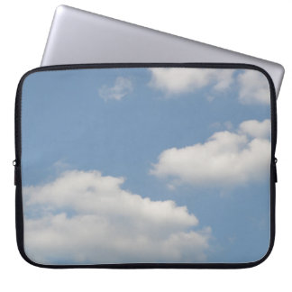 Fluffy Cumulus Clouds Laptop Bag