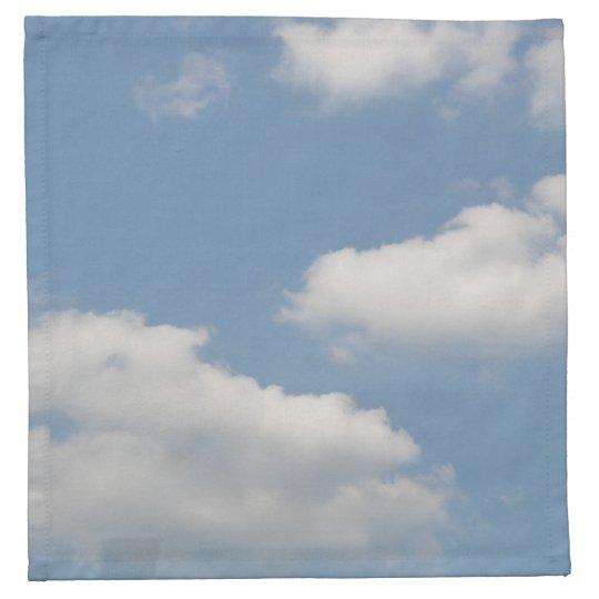 Fluffy Cumulus Clouds Napkin