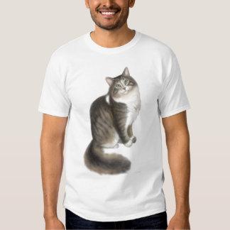 Fluffy Duffy Cat T-Shirt