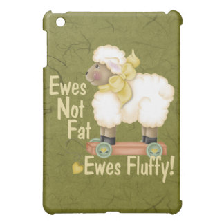 Fluffy Ewes iPad Mini Cover