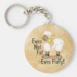 Fluffy Ewes Keychains