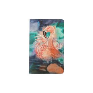 Fluffy Flamingo Pocket Moleskine Notebook