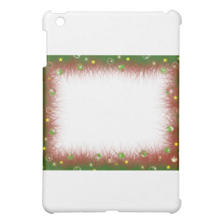 Fluffy Fuzzy Christmas Border Case For The iPad Mini