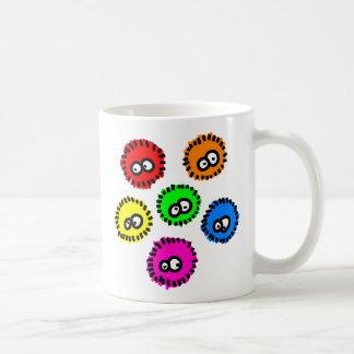 Fluffy Germs Classic White Coffee Mug