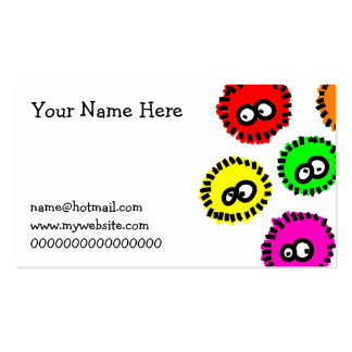 Fluffy Germs Double-Sided Standard Business Cards (Pack Of 100)