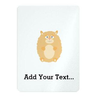 Fluffy Hamster Card