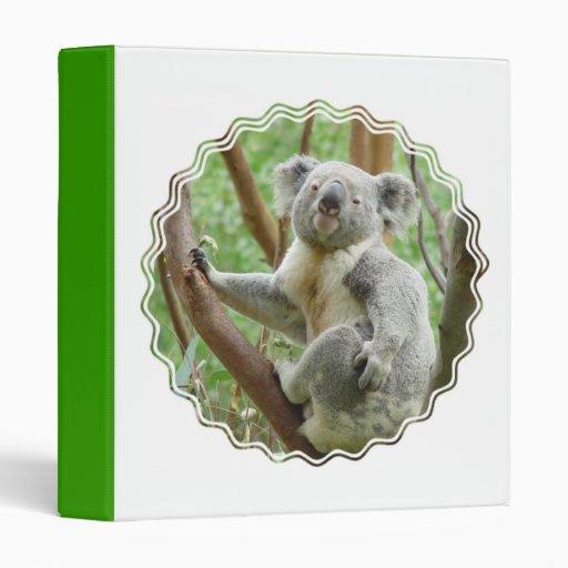 Fluffy Koala  Binder