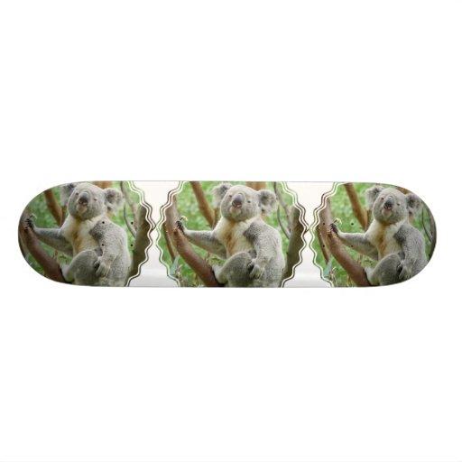Fluffy Koala  Skateboard