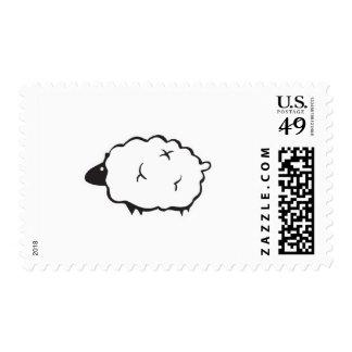 fluffy lamb postage
