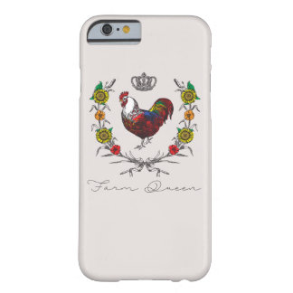 Fluffy Layers Fancy Farm Queen Phone Case
