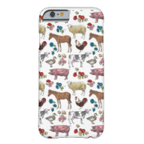 Fluffy Layers Farm Beauty Phone Case