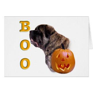 Fluffy Mastiff Boo Card